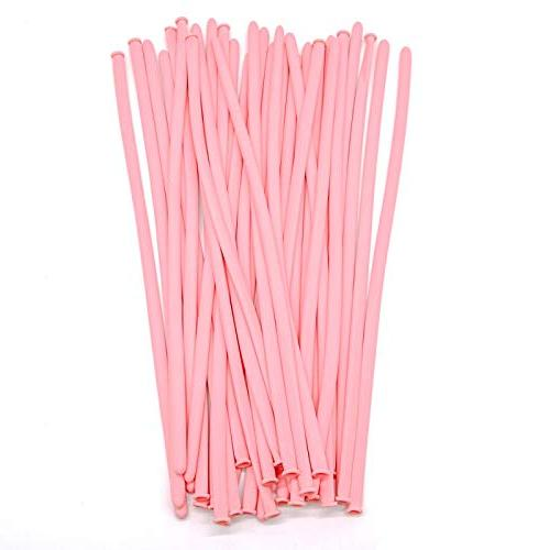 WSSROGY of 100 Magic Balloons Latex Twisting Long for Weddings, Birthday Decorations