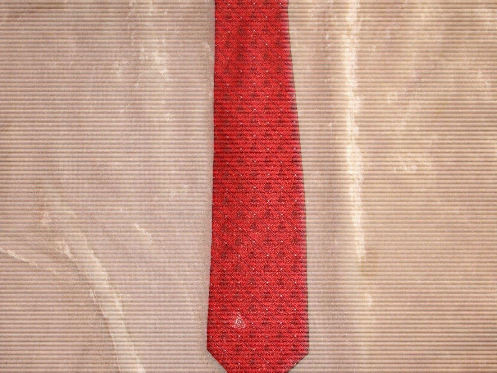Masonic Past Necktie Diamond Fraternity Suit Extra Long