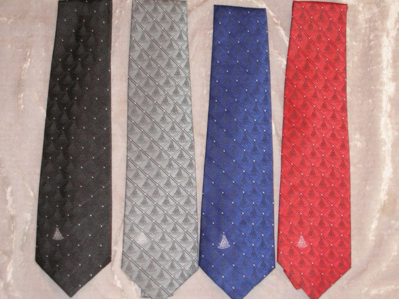 masonic past master necktie diamond fraternity suit