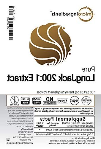 Maximum Strength 200:1 Highest Supports Libido, Energy Non-Irradiated, Non-Contaminated and Vegan Friendly.