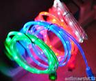 LED LIGHT-UP MICRO USB Data Cable charger FOR Samsung galaxy