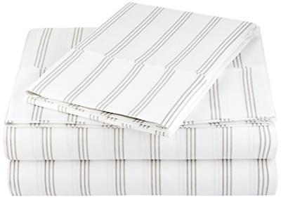 microfiber sheet set twin extra long grey