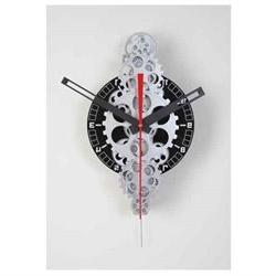 20 x 11 Large Moving Gear Wall Clock