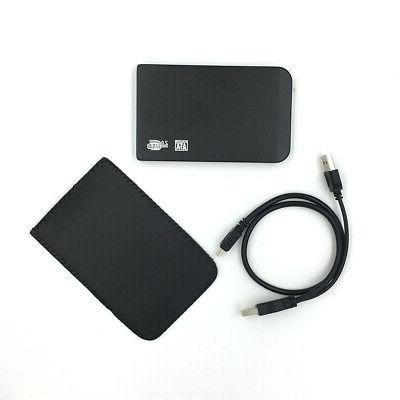 "NEW Black 2.5"" 500 GB Portable External hard drive HDD USB 2"