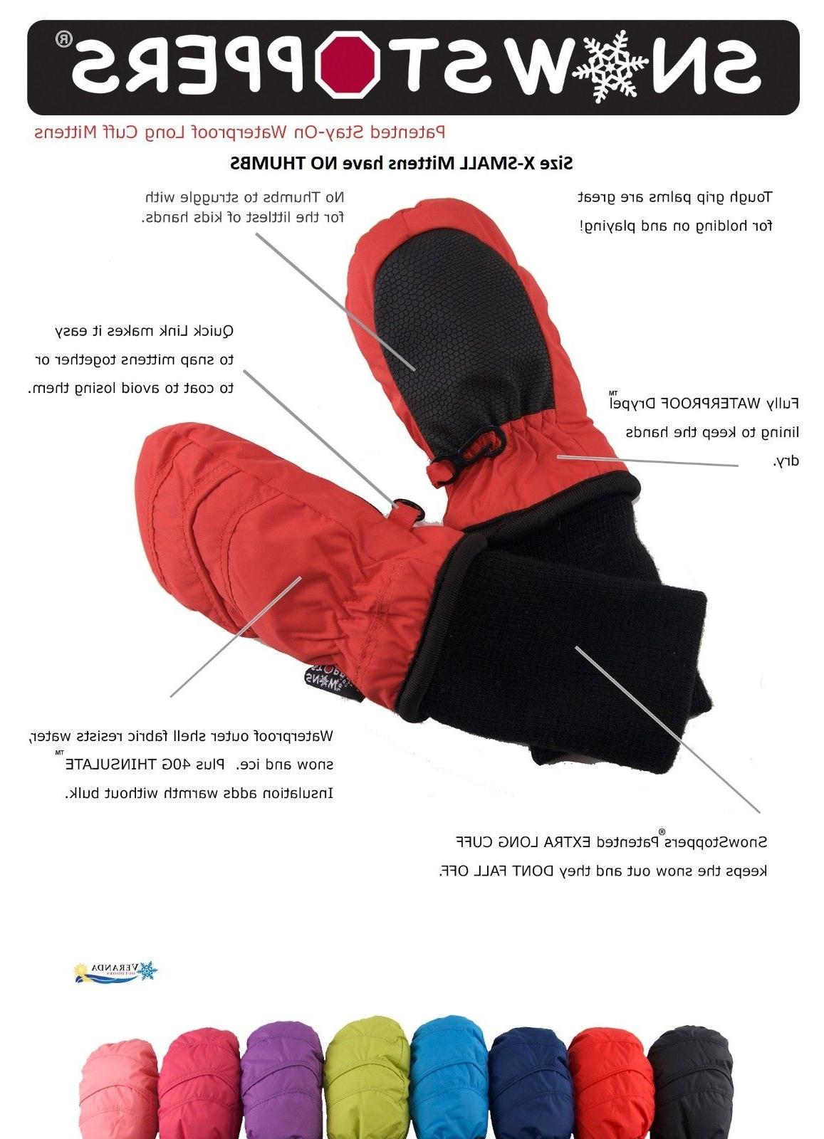 SnowStoppers Original Nylon for 6 - years