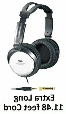 JVC Over-the-Ear Comfortable Stereo Headphones with Extra Lo