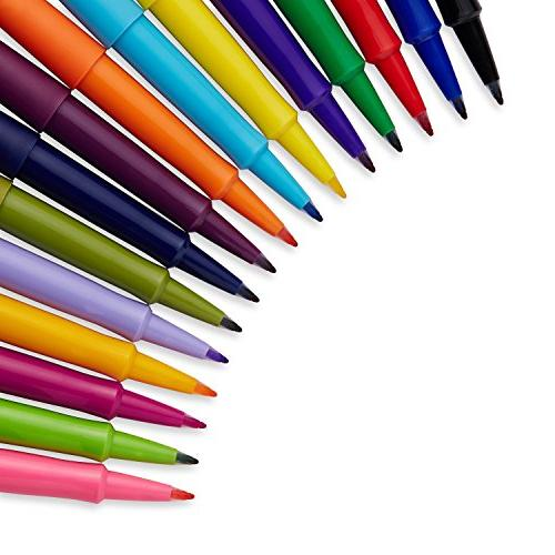 Papermate Porous Stick Assorted 16 Pack,
