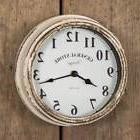 Vintage Clocks For Walls Distressed Country White General St