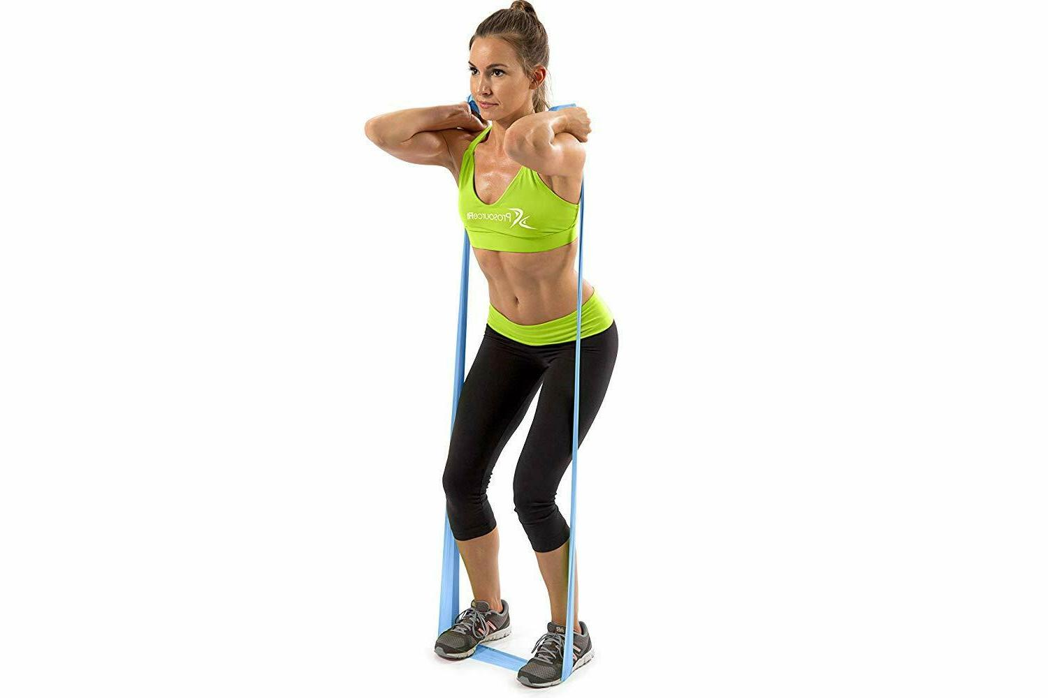 Set 3 Therapy Resistance Bands 6' each-Extra Long