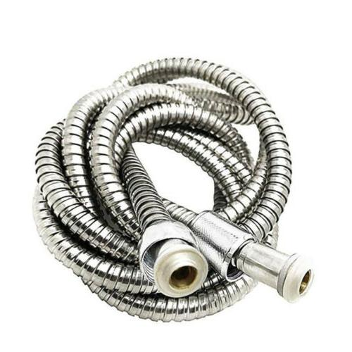 stainless steel extra long shower head hose