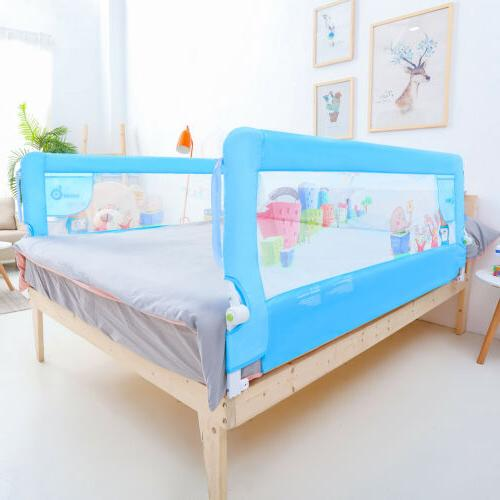 71''/1.8m Baby Children Toddlers Bed Rail Bedrail Crib Guard
