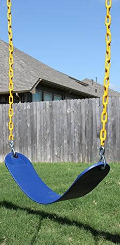 "Jungle Pack Swings Heavy Duty 66"" Coated - Playground Swing Hooks"