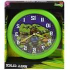 "New Teenage Mutant Ninja Turtles Wall Clock 9.5"" Room Decor"