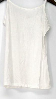 Agiato Top Sz M Extra Long Basic Camisole w/ Adjustable Stra