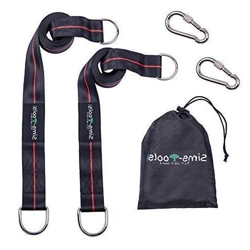 Hanging Kit 2 Straps 10ft Strong Appropriate for Swing Set and Outdoor Rope Quick and