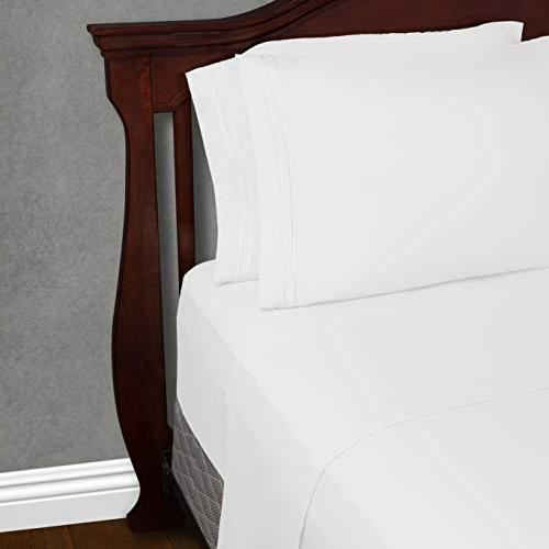 Twin XL Bed Sheets Extra Long Bedding - Pocket Ultra Soft Sheets- Hypoallergenic - & Breathable Wrinkle, Stain, 3
