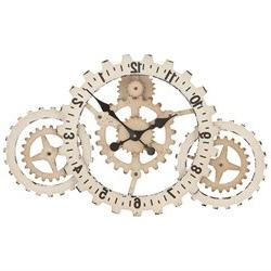 Urban Designs 'Time to Gear Up' 32 Wide Wall Clock