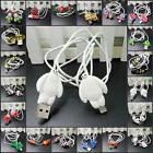 USB Data Cable Charger Cable Sync Cord with Cartoon for iPho