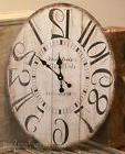VINTAGE STYLE OVAL WALL CLOCK Large ANTIQUE STYLE Gallery DI