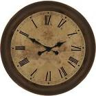 Large Wall Clock Industrial Contemporary Analog Home Living