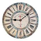 Wall Clocks,,12 Inch Vintage France Paris French Country Tus