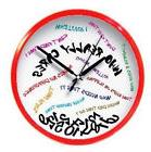 Who Really Cares Wall Clock for Home and Office Novelty Colo