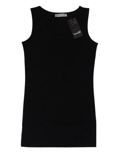 Moxeay Casual Basic Cotton Top Vest