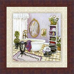 Lavender Scented Bath II Charlene Olson Lilac Purple Bathroo