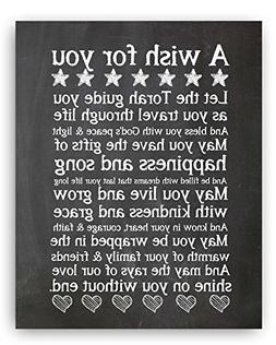 Let the Torah Quote Chalkboard Style Plaque, The Perfect Bar