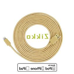 Lightning Cable  - Zikko Ultra Long Nylon Braided Tangle Fr