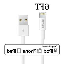 Lightning Cable, KOOWIEN 6FT 8Pin Extra Long USB Sync Cord C