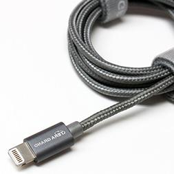 Tera Grand Lightning to USB Braided Cable with Aluminum Hou