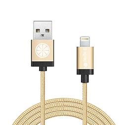 iOrange-E Lightning USB & Data Sync Braided Cable for iPhone
