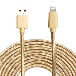 Zikko 16Ft Extra Long Lightning Cable - MFi Certified - 2.4A