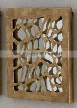 Luxe LEOPARD Animal Pattern Mirrored Wall Panel Jungle Tile