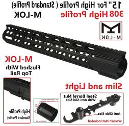 "M-LOK Super Slim Extra Long 15"" High Profile Free Float Hand"