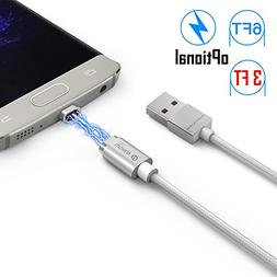 Magnetic Micro Mini 2 Cable, iKNOWTECH Extra Long Android Ve