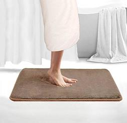 Memory Foam Bath Rugs Luxurious Large Bathroom Rugs Non Slip