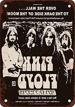 "9"" x 12"" Metal Sign - 1972 Pink Floyd Live at Pompeii Movie"