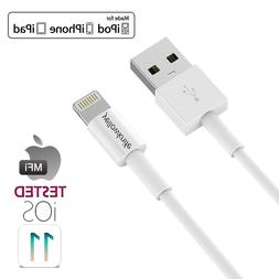 MFi Certified iPhone Charger Cable 1/2/3/5 Pack Extra Long C