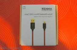 Micro USB Cable Durable Braided Lightning Fast Charging Anke