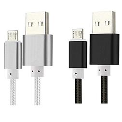 2Pack Micro USB Cable for all Amazon Kindle Fire HD,Kindle P