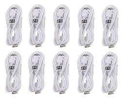 Samsung Micro USB Charging Data Cable for Galaxy Tab, 10 Pac