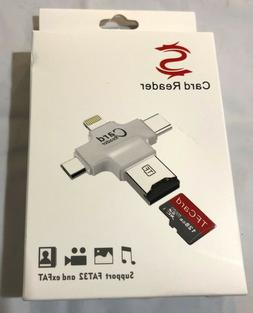 Card Readers Mobile Phone Usb Flash Drive With Lightning Con