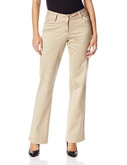 Lee Women's Modern Series Curvy Fit Maxwell Trouser, Caramel