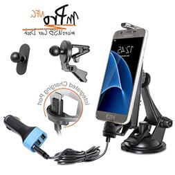 iBOLT mProNFC Combo Car Dock / Mount for Android phones- 3 m