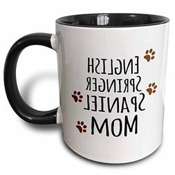 3dRose 154114_4 English Springer Spaniel Dog Mom Mug 11 oz B
