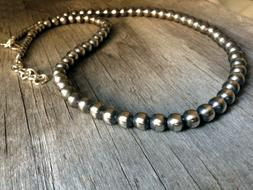 Navajo Pearls extra long strand ~ Large Pearls ~ Style #140