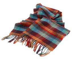 """New Lambswool Scarf Extra Long 10"""" x 80"""" Made in Ireland"""
