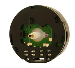 NEW Round Clock Movement for Miniature Clocks with Extra Lon